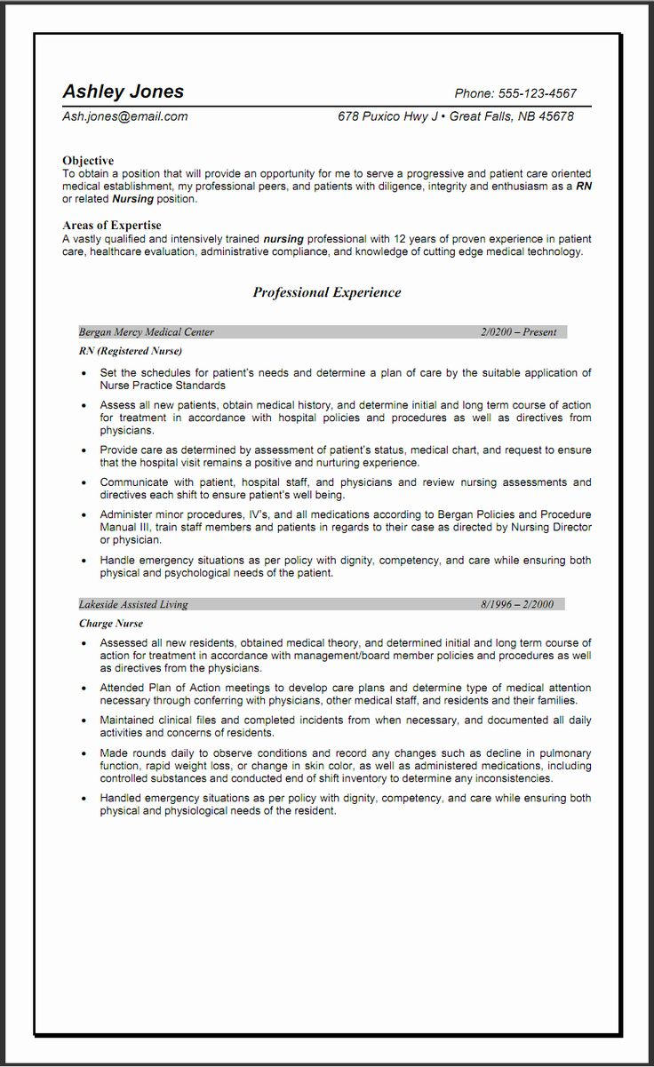 23 nursing resume examples with clinical experience in