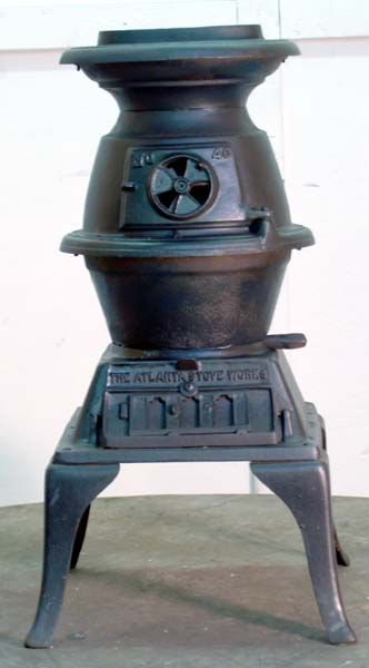 gravity feed pellet cook stove