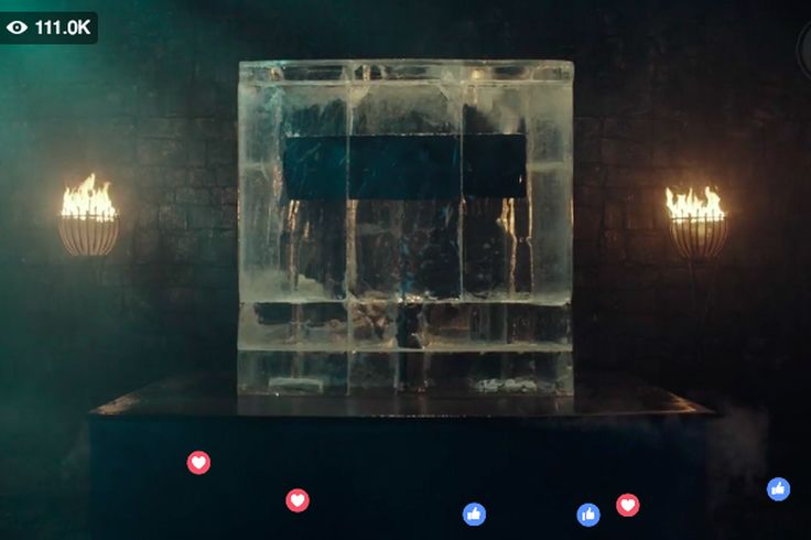Responsive Web Design For Ccw: HBO Is Making Game Of Thrones Fans Watch A Block Of Ice