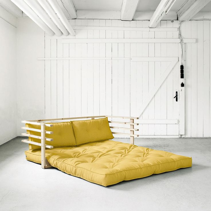 Funk Futon Sofa - Gelb   KARUP