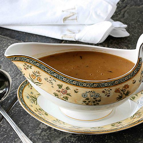 This turkey gravy has been a no-fail recipe for our family for years. But if you run into any troubles, there are plenty of tips for fixing your gravy.