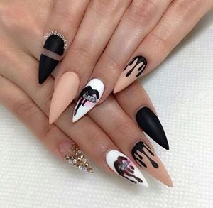 25 acrylic nail designs acrylic nail art ideas part 14 - Ideas For Nail Designs