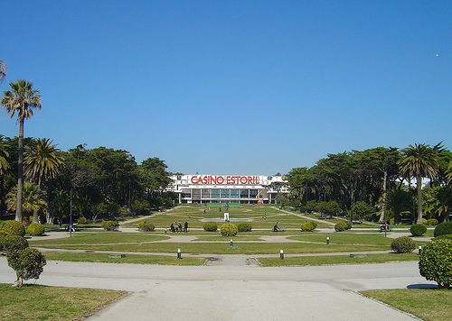 Casino Estoril in Portugal is the largest casino in Europe. Ate in the restaurant years ago overlooking a laser light show in the fountains.