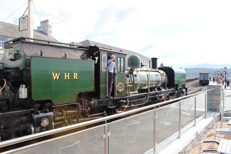 Welsh Highland Railway. Porthmadog.