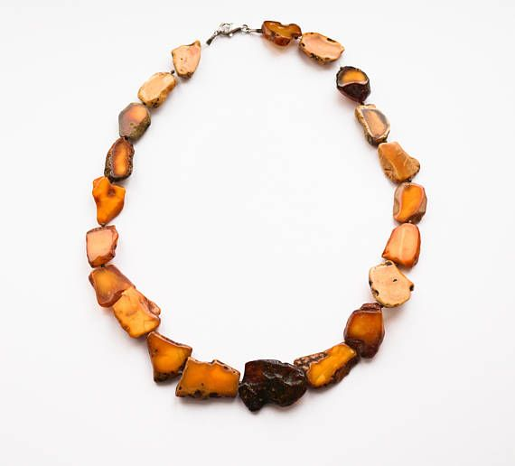 Natural Baltic Amber Necklace41g