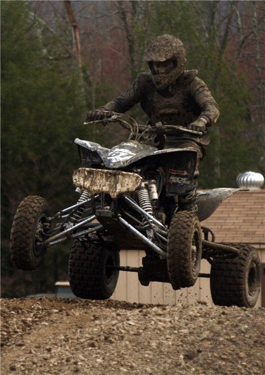 809 best atv images on pinterest dirt biking atvs and dirt bikes just a little mud on the quad like this some of my favorite childhood memories were spent covered in mud fandeluxe Gallery