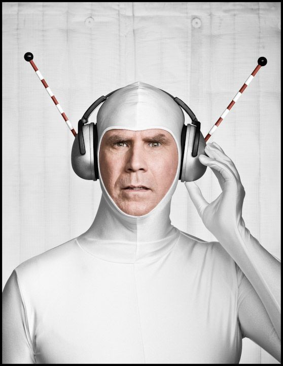 Wired Ferrell by Dan Winters