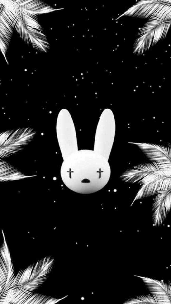 Logo bad bunny wallpaper