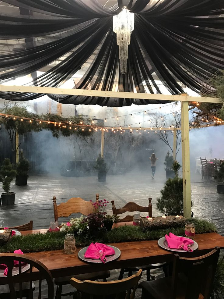 Into The Woods Under The Stars Prom 2017 Prom Decor