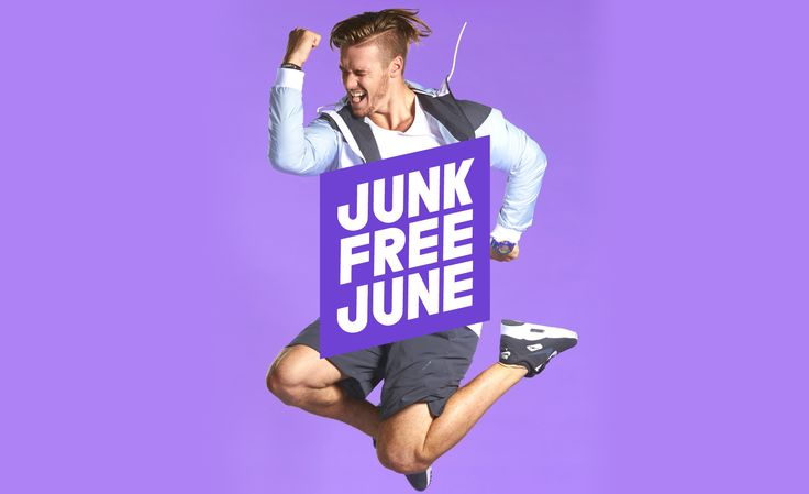 Junk Free June challenges people and groups to give up junk foods during June. 100% of the funds raised go to the Cancer Society of New Zealand.