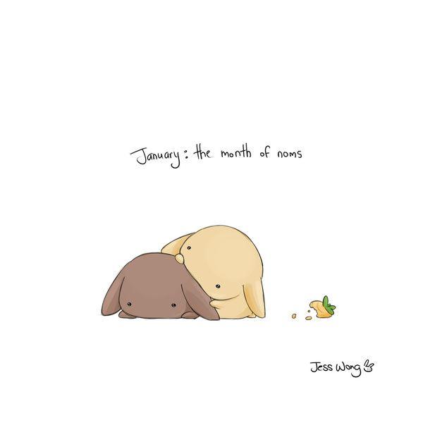 """Jess Wong, """"January"""""""