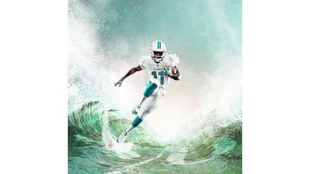 This video show the breakdown/progression of the build for one of 3 images we did for Nike's new NFL uniforms.  A complex composite involving photography and extensive CG work.  Please check out our site for more detailed information.  credits:  Creative Direction/Rendering/CG/Post:  Heavy Artillery Water Modeling:  Rowan Simpson Particles/Dynamic fluids: Incendii VFX Photography: Marcus Eriksson / client supplied