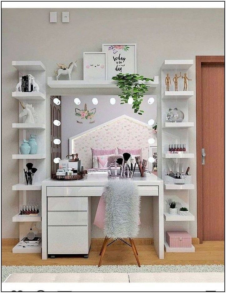 37 Simple Makeup Room Ideas Organizer For Proper Storage 1 Page 41