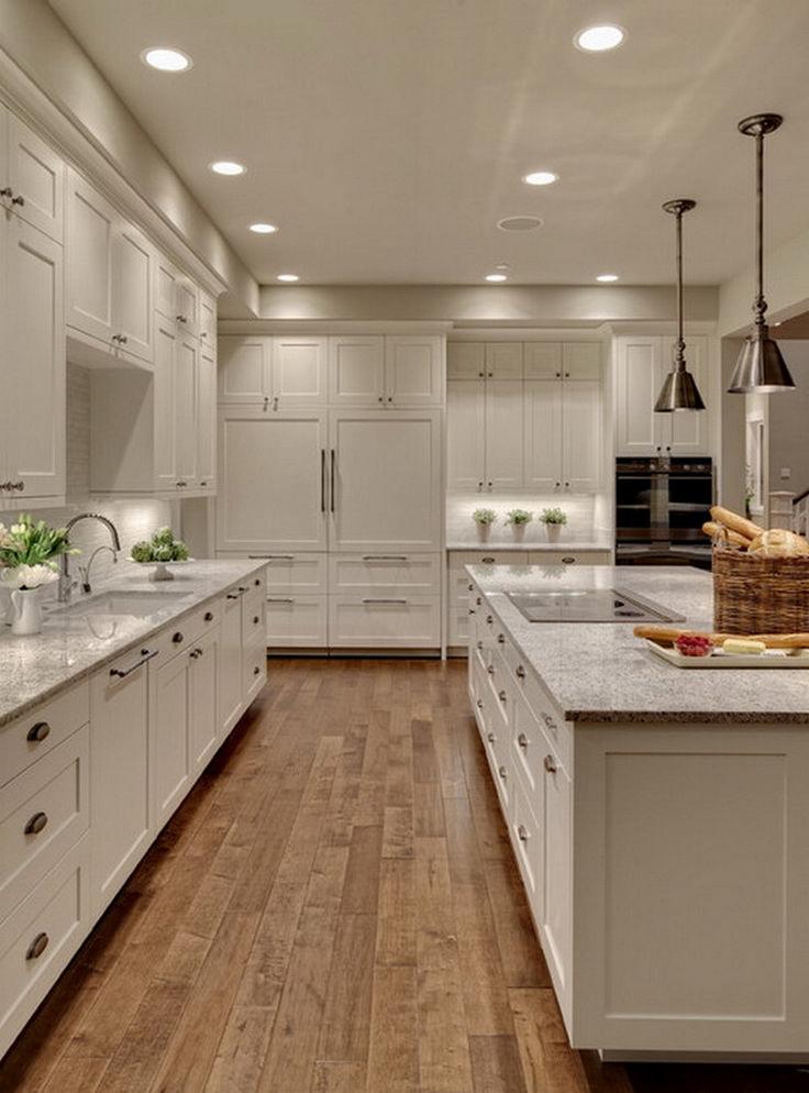 Pretty White Kitchen Design Idea 21