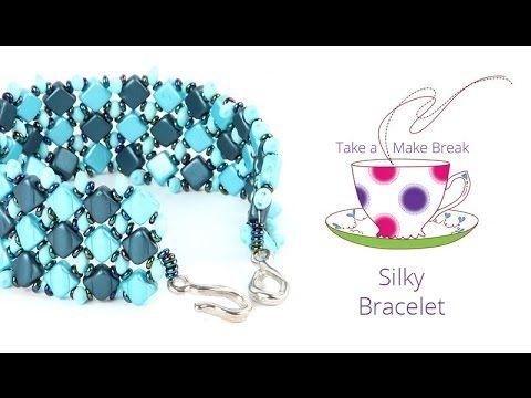 Simply Silky Bracelet | Take a Make Break with Sarah - YouTube