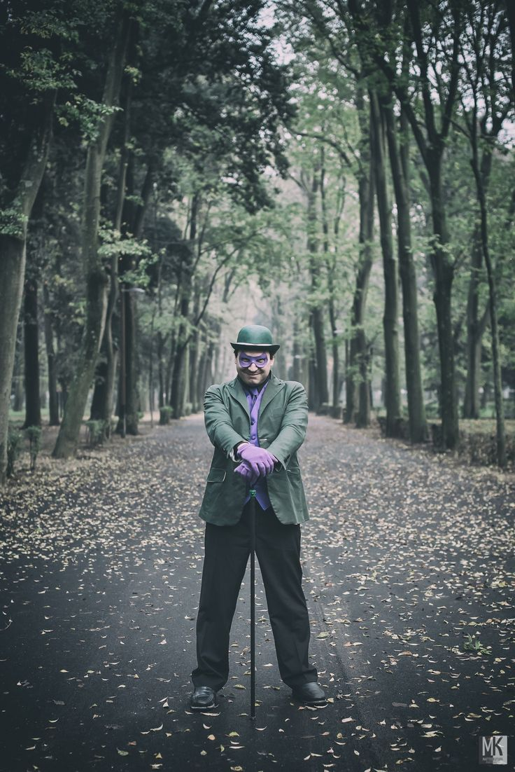 The Riddler (Dr. Edward Nigma) by Matteo Kutufa on 500px