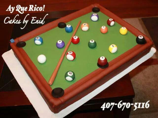 Billard / Billar cake