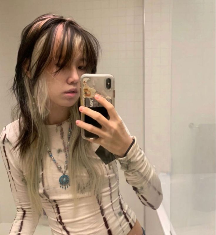 Dye My Hair, New Hair, Hair Inspo, Hair Inspiration, Mullet Hairstyle, Hair Reference, Aesthetic Hair, Cool Hair Color, Looks Cool
