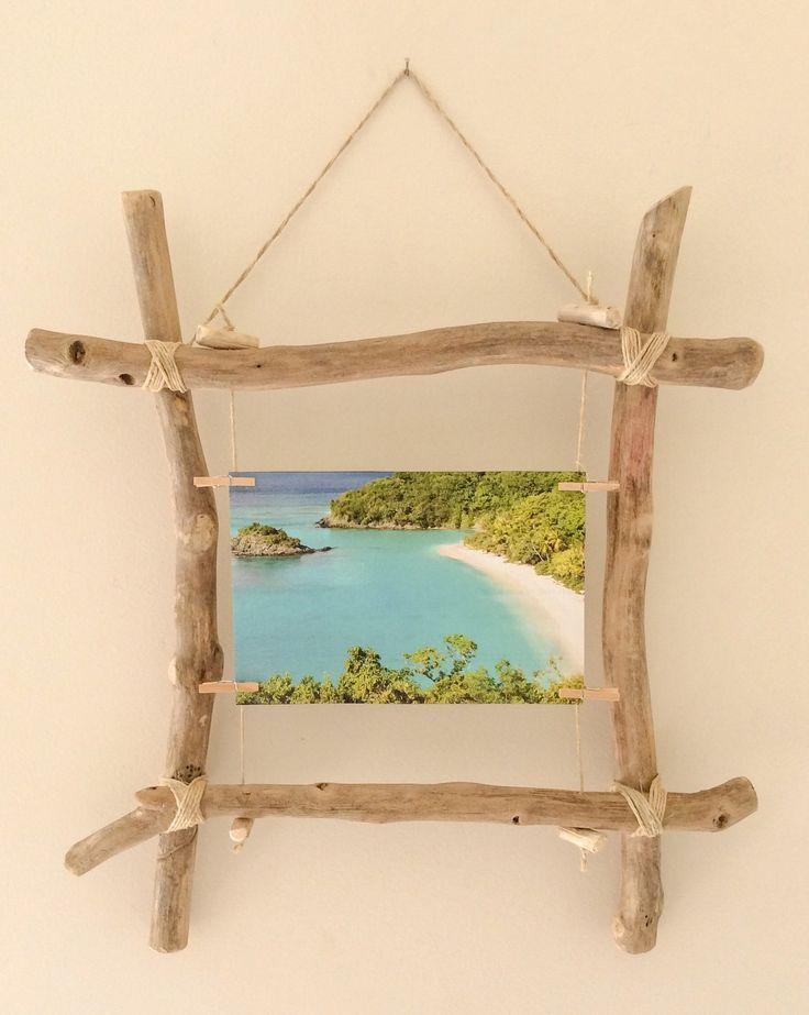 Schwimmender Bilderrahmen aus Holz von Corinne's W…