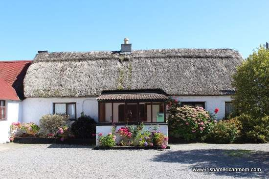 Thatched Cottage in Glenroe Farm, County Wicklow