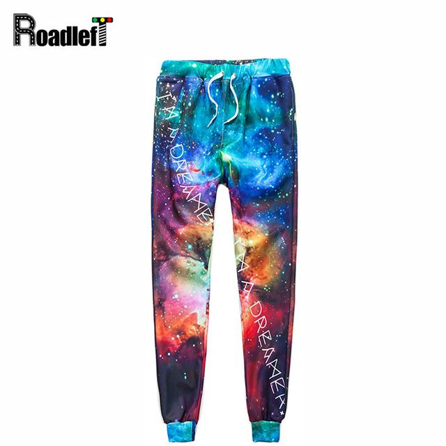 Buy now Men & Women fashion emoji joggers skinny pants Mens Space Stars Nebula 3D Print casual sweatpants hip hop harem pants trousers just only $17.91 with free shipping worldwide  #pantsformen Plese click on picture to see our special price for you