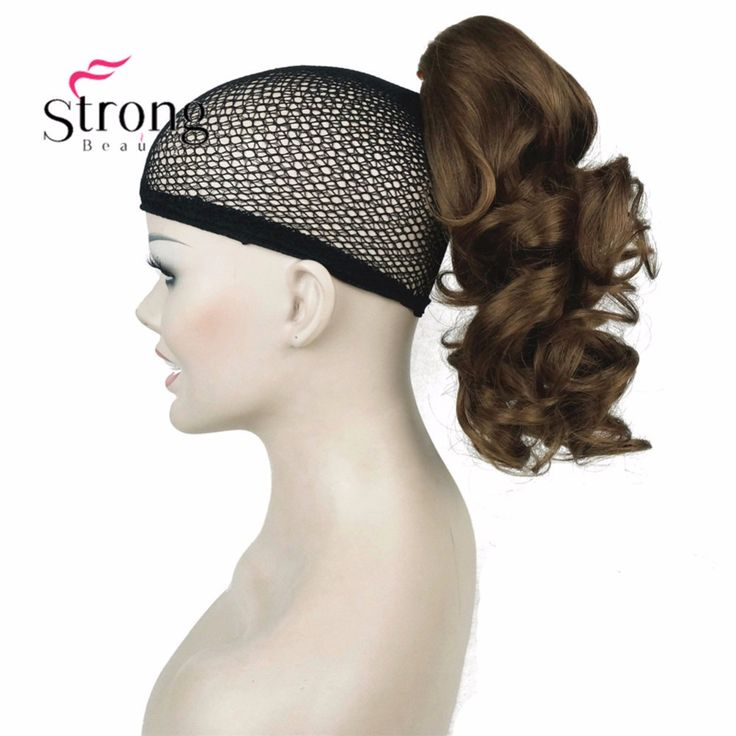 12 Dual Use Curly Styled Clip In Claw Ponytail Hair Extension Synthetic Hairpiece With A Click Visit To Buy