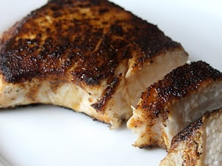 Who knew swordfish was so good? Try it blackened