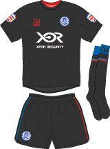 Aldershot Town FC Football Kits 2010-2011 Away Kit