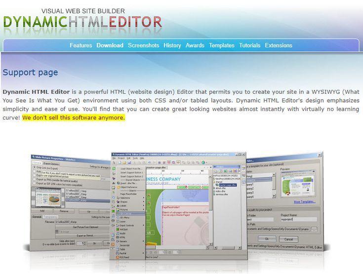 6 Free Wysiwyg Web Editors For Windows Html Editor Editor Windows