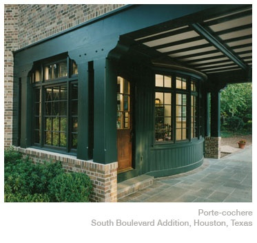 1000 images about exteriors porte cochere on pinterest for Cottage house plans with porte cochere