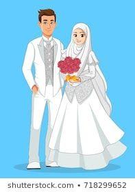 Gambar Kartun Pernikahan - mungfali.com