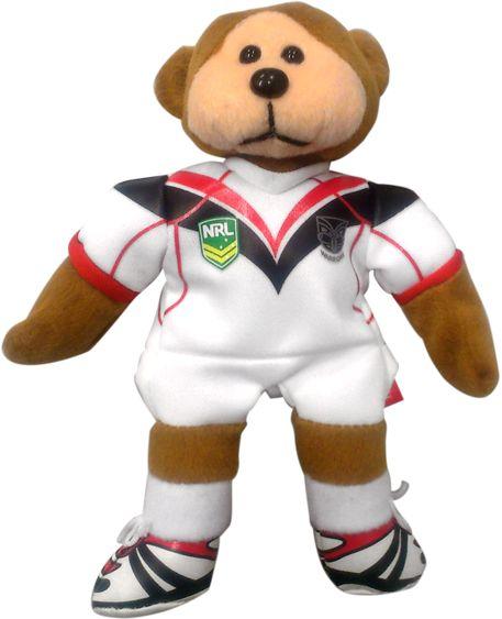 2014 Vodafone Warriors Away Bear #WarriorsGear #WarriorsForever #NRL #TeddyBear #Bear Go to www.warriorsstore.co.nz
