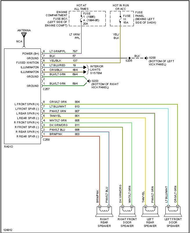 Ford Radio Wiring Diagram Download Pictures - Wiring