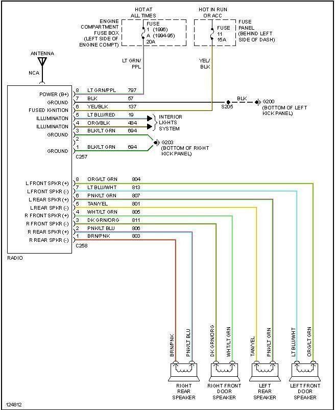 50 Best Of 1997 Ford F150 Radio Wiring Diagram F150 Ford F150 Diagram