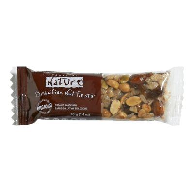 Try grabbing a healthy snack like this all natural granola bar instead of french fries.