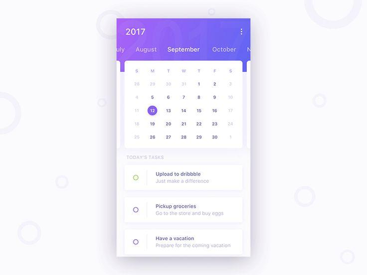 Calendar task
