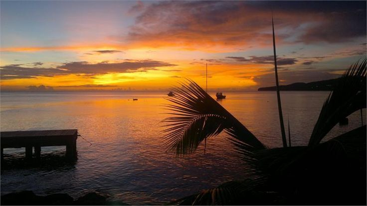 Coucher de Soleil en #Martinique