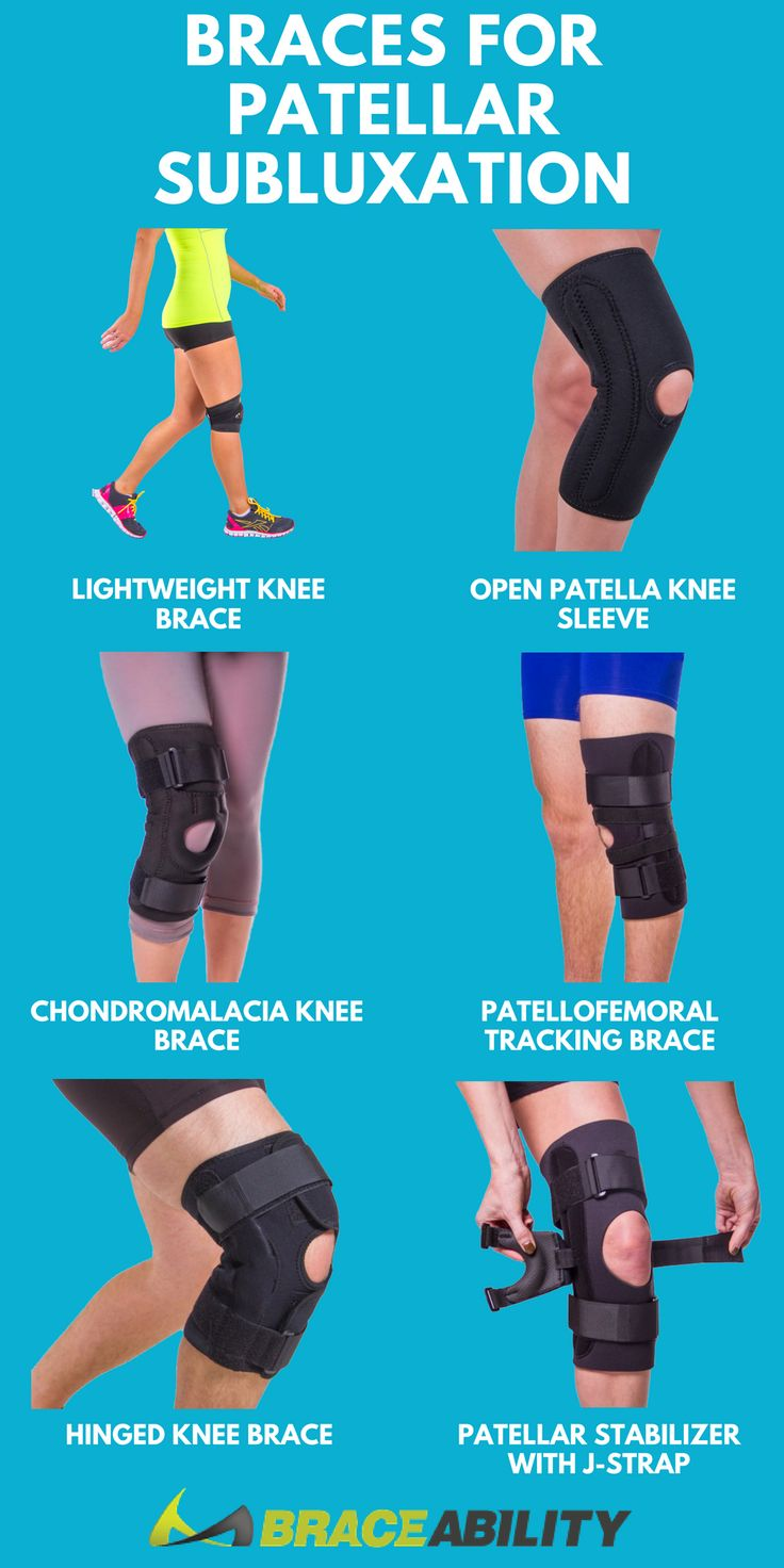 Does your kneecap (patella) feel like it's moving out of position? You might be experiencing a patellar subluxation! These knee braces can help treat patellar subluxation, keep your kneecap in place, and reduce pain associated with patellar tracking disorders, such patellar subluxation or patellar dislocation.