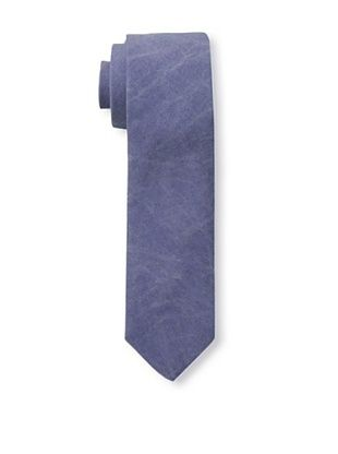 51% OFF Gitman Brothers Men's Woven Washed Solid Tie, Denim