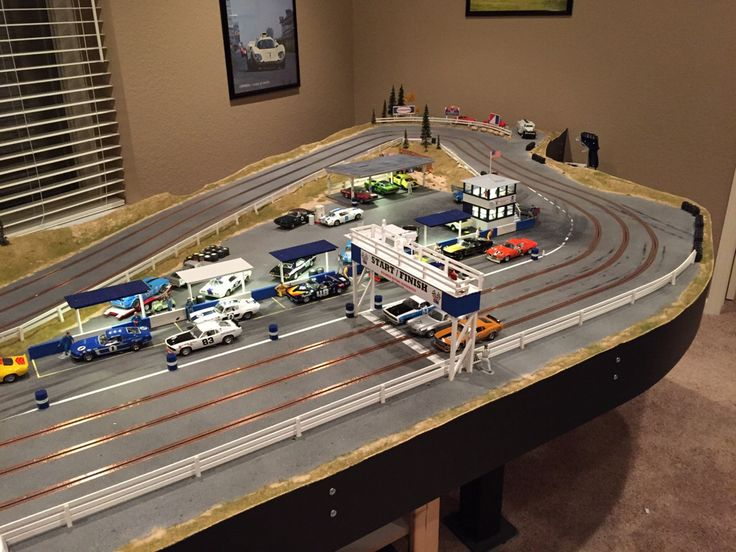 6 X12 Slot Car Track Layouts