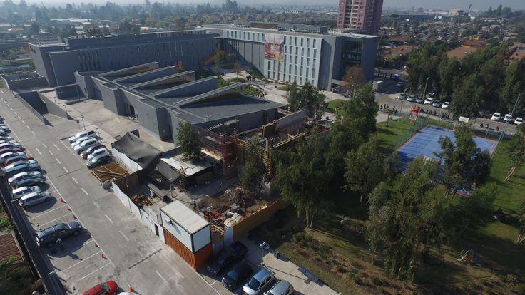 Ampliación taller de mantenimiento minero - INACAP Puente Alto