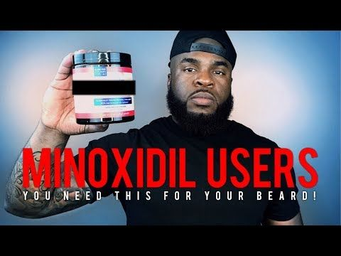 How to Double Your Minoxidil Beard Growth | Best Quick & Easy Tip For Fuller and Thicker Minox Beard - YouTube