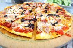 Tavada İncecik Mayalı Pizza