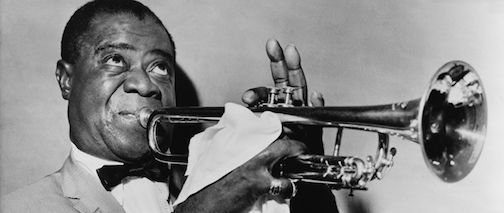 Lou Armstrong did know how to play the jazz trumpet.
