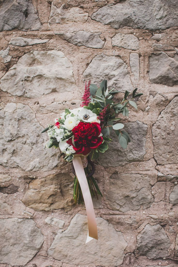 Burgandy, bride's bouquet, peonies, anemony, ranunculus, olive branch, astilbe...