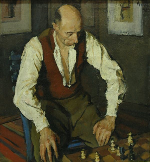 Corneliu Baba (1906-1997) - The Chess Player