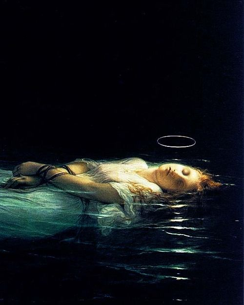 The Young Martyr (Detail), 1853  Paul Delaroche Fell in love with this painting when I went to the louvre