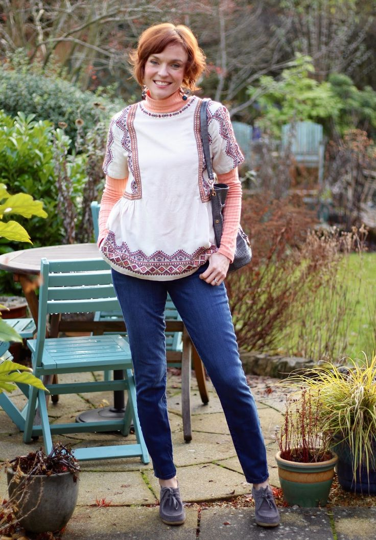 Trying something New | Aztec Smock Top and Ugly Shoes! | Fake Fabulous