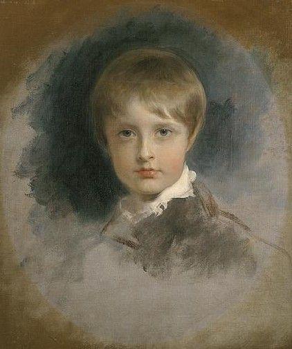 Thomas Lawrence (1769-1830)  Portrait du prince Aiglon,1818-1819