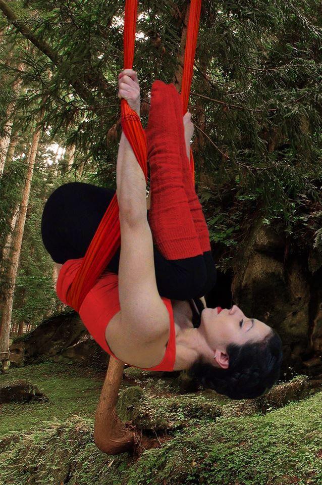 Swing Yoga, Aerial Yoga, Trikala, Greece, Action-Art-Academy